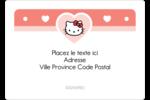 Nous aimons Hello Kitty Étiquettes D'Identification - gabarit prédéfini. <br/>Utilisez notre logiciel Avery Design & Print Online pour personnaliser facilement la conception.