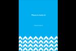 Chevron classique Reliures - gabarit prédéfini. <br/>Utilisez notre logiciel Avery Design & Print Online pour personnaliser facilement la conception.