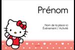 Nous aimons Hello Kitty Badges - gabarit prédéfini. <br/>Utilisez notre logiciel Avery Design & Print Online pour personnaliser facilement la conception.