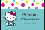 Fête Hello Kitty Badges - gabarit prédéfini. <br/>Utilisez notre logiciel Avery Design & Print Online pour personnaliser facilement la conception.