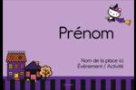 Halloween Hello Kitty Badges - gabarit prédéfini. <br/>Utilisez notre logiciel Avery Design & Print Online pour personnaliser facilement la conception.