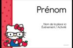 Votre Ami Hello Kitty Badges - gabarit prédéfini. <br/>Utilisez notre logiciel Avery Design & Print Online pour personnaliser facilement la conception.