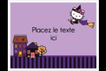 Halloween Hello Kitty Cartes Et Articles D'Artisanat Imprimables - gabarit prédéfini. <br/>Utilisez notre logiciel Avery Design & Print Online pour personnaliser facilement la conception.