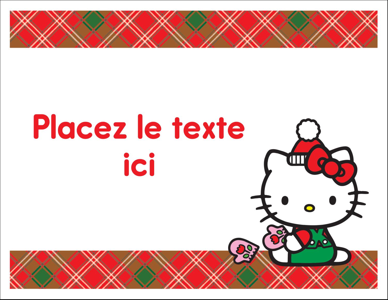 """8½"""" x 11"""" Cartes Et Articles D'Artisanat Imprimables - Souhaits chaleureux pour la période des fêtes"""