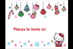 Hello Kitty Fêtes Cartes Et Articles D'Artisanat Imprimables - gabarit prédéfini. <br/>Utilisez notre logiciel Avery Design & Print Online pour personnaliser facilement la conception.