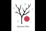 Arbre en hiver Cartes Et Articles D'Artisanat Imprimables - gabarit prédéfini. <br/>Utilisez notre logiciel Avery Design & Print Online pour personnaliser facilement la conception.