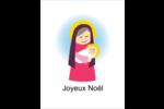 Enfant Jésus avec Marie Cartes Et Articles D'Artisanat Imprimables - gabarit prédéfini. <br/>Utilisez notre logiciel Avery Design & Print Online pour personnaliser facilement la conception.