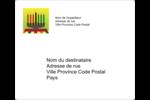 Lueur verte de Kwanzaa Étiquettes D'Adresse - gabarit prédéfini. <br/>Utilisez notre logiciel Avery Design & Print Online pour personnaliser facilement la conception.