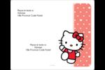 Nous aimons Hello Kitty Étiquettes D'Adresse - gabarit prédéfini. <br/>Utilisez notre logiciel Avery Design & Print Online pour personnaliser facilement la conception.