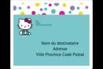 Fête Hello Kitty Étiquettes D'Adresse - gabarit prédéfini. <br/>Utilisez notre logiciel Avery Design & Print Online pour personnaliser facilement la conception.