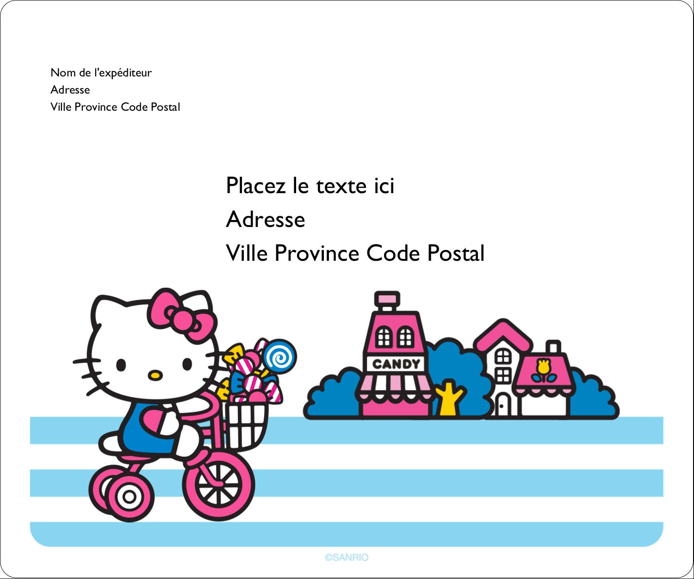"""½"""" x 1¾"""" Étiquettes D'Adresse - Le plus joli vélo"""