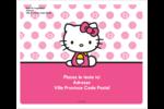 Jolie en rose Étiquettes D'Adresse - gabarit prédéfini. <br/>Utilisez notre logiciel Avery Design & Print Online pour personnaliser facilement la conception.