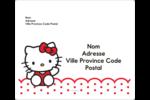 Salut Hello Kitty Étiquettes D'Adresse - gabarit prédéfini. <br/>Utilisez notre logiciel Avery Design & Print Online pour personnaliser facilement la conception.