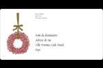 Couronnes de Noël Étiquettes de classement écologiques - gabarit prédéfini. <br/>Utilisez notre logiciel Avery Design & Print Online pour personnaliser facilement la conception.