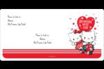 Hello Kitty et Cher Daniel Valentin Étiquettes de classement écologiques - gabarit prédéfini. <br/>Utilisez notre logiciel Avery Design & Print Online pour personnaliser facilement la conception.