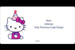 Hello Kitty Anniversaire Étiquettes de classement écologiques - gabarit prédéfini. <br/>Utilisez notre logiciel Avery Design & Print Online pour personnaliser facilement la conception.
