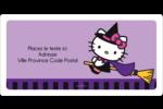Halloween Hello Kitty Étiquettes d'expédition - gabarit prédéfini. <br/>Utilisez notre logiciel Avery Design & Print Online pour personnaliser facilement la conception.