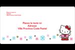 Hello Kitty Fêtes Étiquettes de classement écologiques - gabarit prédéfini. <br/>Utilisez notre logiciel Avery Design & Print Online pour personnaliser facilement la conception.