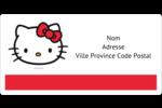 Bonjour Ami! Étiquettes de classement écologiques - gabarit prédéfini. <br/>Utilisez notre logiciel Avery Design & Print Online pour personnaliser facilement la conception.