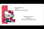 Votre Ami Hello Kitty Étiquettes de classement écologiques - gabarit prédéfini. <br/>Utilisez notre logiciel Avery Design & Print Online pour personnaliser facilement la conception.