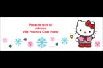 Hello Kitty Fêtes Intercalaires / Onglets - gabarit prédéfini. <br/>Utilisez notre logiciel Avery Design & Print Online pour personnaliser facilement la conception.
