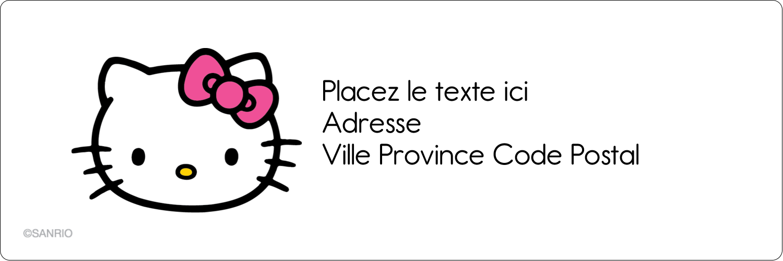 "8½"" x 11"" Intercalaires / Onglets - Hello Kitty Cœurs et Nœuds"