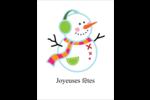 Bonhomme de neige Cartes Et Articles D'Artisanat Imprimables - gabarit prédéfini. <br/>Utilisez notre logiciel Avery Design & Print Online pour personnaliser facilement la conception.