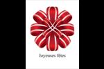 Rubans rouges Cartes Et Articles D'Artisanat Imprimables - gabarit prédéfini. <br/>Utilisez notre logiciel Avery Design & Print Online pour personnaliser facilement la conception.