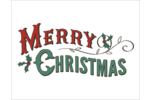 Add holiday cheer and Old Western charm to projects with pre-designed Merry templates.