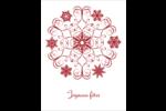Flocon de neige tourbillonnant Cartes Et Articles D'Artisanat Imprimables - gabarit prédéfini. <br/>Utilisez notre logiciel Avery Design & Print Online pour personnaliser facilement la conception.