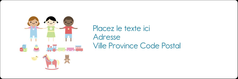"""8½"""" x 11"""" Intercalaires / Onglets - Éducation et préscolaire"""