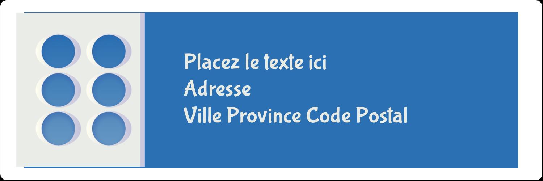 "8½"" x 11"" Intercalaires / Onglets - 4e étage"