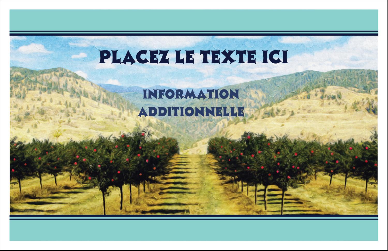 """8½"""" x 11"""" Cartes Et Articles D'Artisanat Imprimables - Caisse d'oranges"""