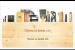 Menuiserie  Cartes Et Articles D'Artisanat Imprimables - gabarit prédéfini. <br/>Utilisez notre logiciel Avery Design & Print Online pour personnaliser facilement la conception.