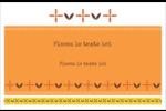 Fleurs orange géométriques Cartes Et Articles D'Artisanat Imprimables - gabarit prédéfini. <br/>Utilisez notre logiciel Avery Design & Print Online pour personnaliser facilement la conception.