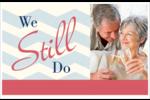 Anniversaire « Still Do » Cartes Et Articles D'Artisanat Imprimables - gabarit prédéfini. <br/>Utilisez notre logiciel Avery Design & Print Online pour personnaliser facilement la conception.