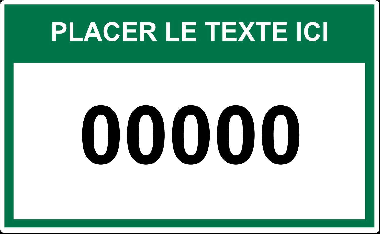 """8⅛"""" x 5"""" Étiquettes d'expéditions - Numéros de série"""