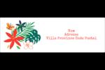 Plantes tropicales Intercalaires / Onglets - gabarit prédéfini. <br/>Utilisez notre logiciel Avery Design & Print Online pour personnaliser facilement la conception.