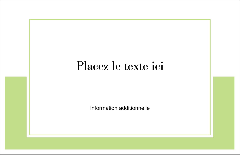 """8½"""" x 11"""" Cartes Et Articles D'Artisanat Imprimables - Traitement en vert"""
