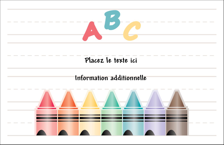 """8½"""" x 11"""" Cartes Et Articles D'Artisanat Imprimables - Enseignement préscolaire"""