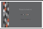 Hexagone orange Cartes Et Articles D'Artisanat Imprimables - gabarit prédéfini. <br/>Utilisez notre logiciel Avery Design & Print Online pour personnaliser facilement la conception.