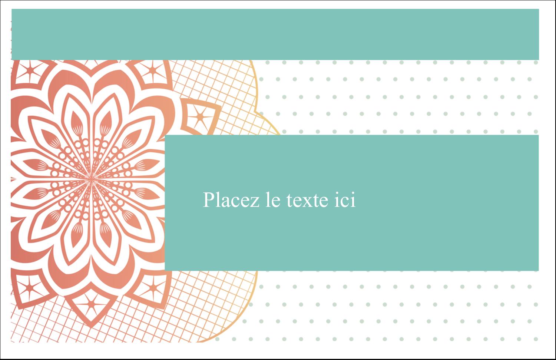 """8½"""" x 11"""" Cartes Et Articles D'Artisanat Imprimables - Napperon géométrique"""