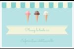 Chariot à crème glacée Cartes Et Articles D'Artisanat Imprimables - gabarit prédéfini. <br/>Utilisez notre logiciel Avery Design & Print Online pour personnaliser facilement la conception.