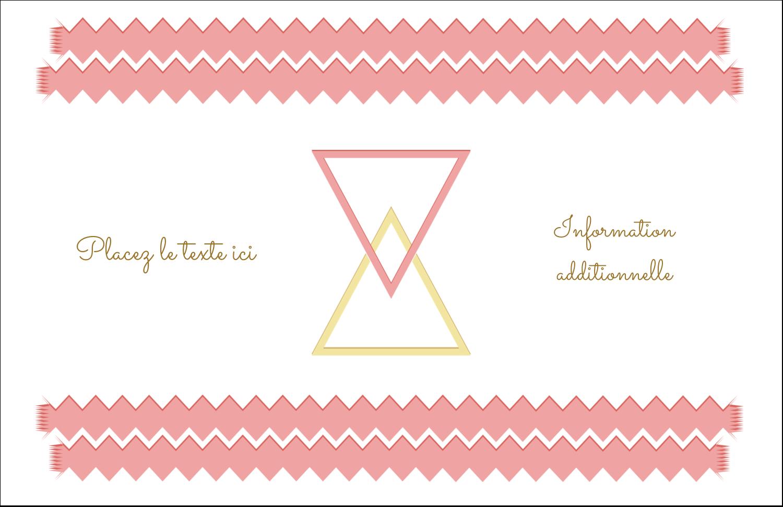 """8½"""" x 11"""" Cartes Et Articles D'Artisanat Imprimables - Triangles modernes pour typographie"""