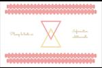 Triangles modernes pour typographie Cartes Et Articles D'Artisanat Imprimables - gabarit prédéfini. <br/>Utilisez notre logiciel Avery Design & Print Online pour personnaliser facilement la conception.