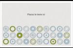 Cercles professionnels Cartes Et Articles D'Artisanat Imprimables - gabarit prédéfini. <br/>Utilisez notre logiciel Avery Design & Print Online pour personnaliser facilement la conception.