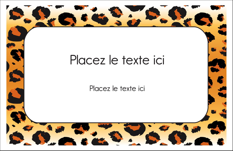 """8½"""" x 11"""" Cartes Et Articles D'Artisanat Imprimables - Imprimé léopard"""