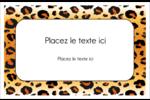 Imprimé léopard Cartes Et Articles D'Artisanat Imprimables - gabarit prédéfini. <br/>Utilisez notre logiciel Avery Design & Print Online pour personnaliser facilement la conception.