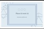 Sphères modernes pour typographie Cartes Et Articles D'Artisanat Imprimables - gabarit prédéfini. <br/>Utilisez notre logiciel Avery Design & Print Online pour personnaliser facilement la conception.