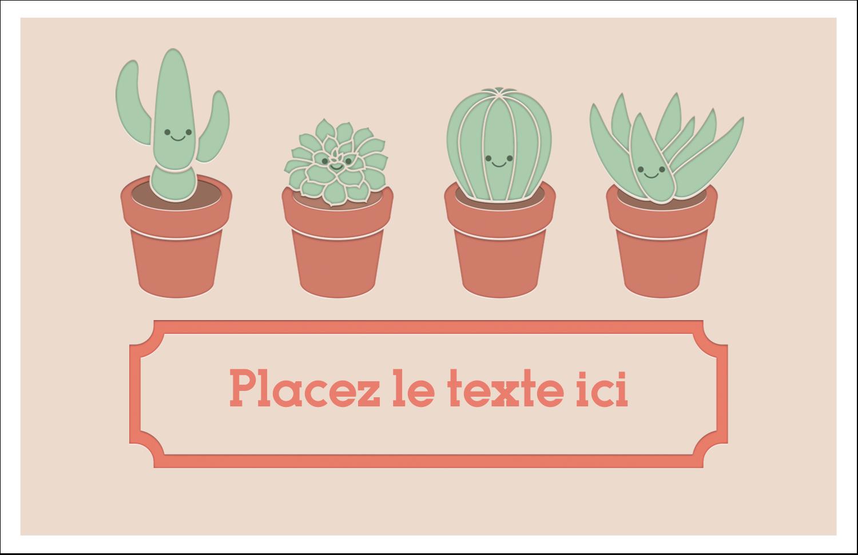 """8½"""" x 11"""" Cartes Et Articles D'Artisanat Imprimables - Plantes en pot fantaisistes"""